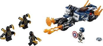 Конструктор Lego Super Heroes Америка: Атака Аутрайдеров 76123