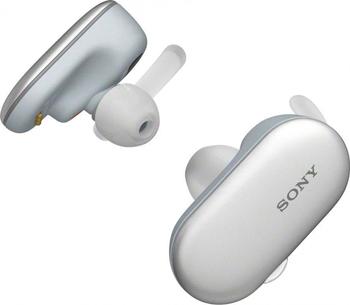 лучшая цена Спорт.беспроводные наушники Sony WF-SP900 белые