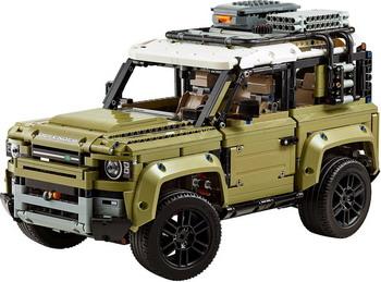 Конструктор Lego TECHNIC ''Land Rover Defender'' 42110 цена