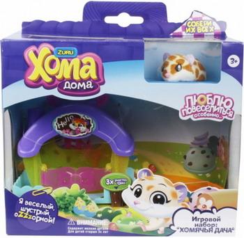 Набор игровой 1 Toy ''Хома Дома'' ''Хомячья Дача'' Т12498 игровой набор 1toy хома дома хома хомбургер