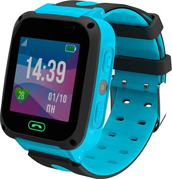 Детские часы с GPS поиском JET KID CONNECT голубой