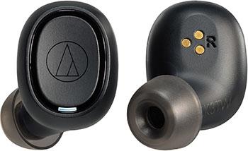 Вставные наушники Audio-Technica ATH-CK3TW BK наушники audio technica ath ck3tw black