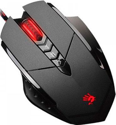 Мышь игровая проводная A4Tech Bloody V7M черный мышь игровая проводная a4tech bloody q82 черный рисунок
