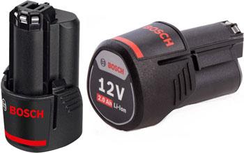 Аккумулятор Bosch Li-ion 12V 2.0 А*ч 1600Z0002X аккумуляторный блок bosch 1600z0002x 12 в 2 а·ч