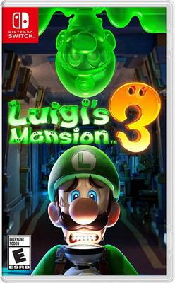 Видеоигра Nintendo Switch: Luigi's Mansion 3