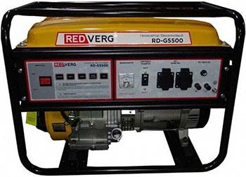 Электрический генератор и электростанция RedVerg RD-G5500 электрогенератор redverg rd g5500