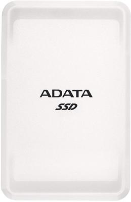 Фото - Внешний SSD жесткий диск A-DATA ASC685-1TU32G2-CWH WHITE USB-C 1TB EXT. внешний ssd жесткий диск a data ase760 256gu32g2 cti titanium usb c 256gb ext