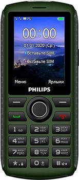 Фото - Мобильный телефон Philips Philips Xenium E218 32Mb зеленый сотовый телефон philips e218 xenium dark grey