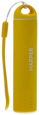 Внешний аккумулятор Harper PB-2602 yellow аккумулятор