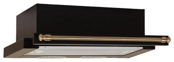 Вытяжка ELIKOR Интегра 50П-400-В2Л (КВ II М-400-50-250) антрацит/рейлинг бронза вытяжка встраиваемая elikor интегра 50п 400 в2л черный управление кнопочное 1 мотор [кв ii м 400 50 250]