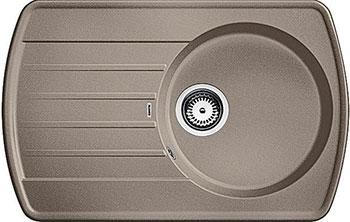 Кухонная мойка BLANCO RONDOVAL 45 S SILGRANIT серый беж кухонная мойка blanco rondoval 45 silgranit серый беж