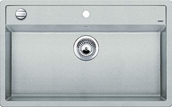 Кухонная мойка BLANCO DALAGO 8 SILGRANIT жемчужный с клапаном-автоматом кухонная мойка blanco dalago 45 f silgranit кофе с клапаном автоматом