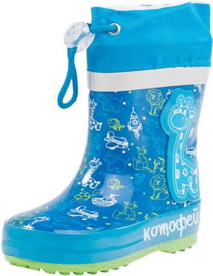 Сапоги Котофей 166060-11 р. 21 голубые туфли для девочки котофей цвет голубой 131105 72 размер 21