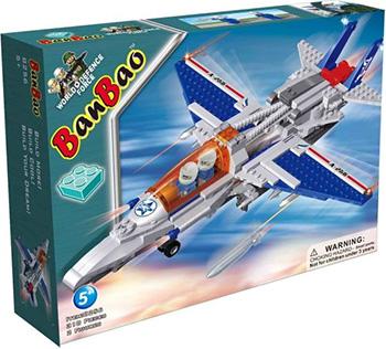 Конструктор BanBao Истребитель конструктор banbao пожарный гидроплан 125 дет 7109 294070