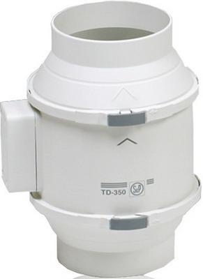 Канальный вентилятор Soler & Palau TD 350 T/125 (белый) 03-0101-209