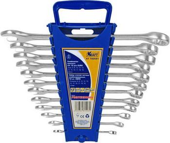 Набор комбинированных ключей Kraft ЕВРО KT 700591 цена