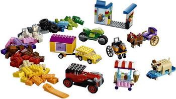 Конструктор Lego Classic: Модели на колёсах 10715 стоимость