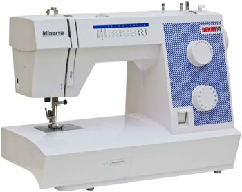 Швейная машина Minerva Denim 14 швейная машина minerva f 832 b
