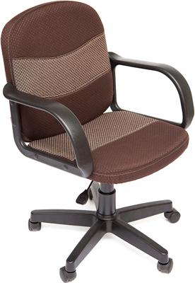Офисное кресло Tetchair BAGGI (ткань коричневый/бежевый 08/12) цена