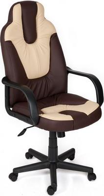 Кресло Tetchair NEO (1) (кож/зам Коричневый бежевый PU C 36-36/36-34/) цена