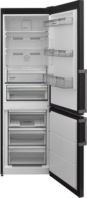 лучшая цена Двухкамерный холодильник Scandilux CNF 341 EZ D/X Dark Inox