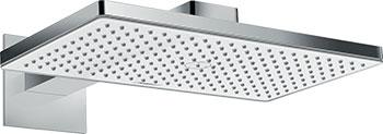 Верхний душ Hansgrohe Rainmaker Select 460х270 мм  1 режим Rain  боковой кроншт. 460 мм  &#189 '' 24 003 400