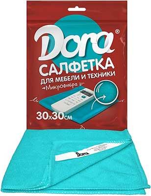 Для мебели и техники Dora Салфетка из микрофибры ''Для мебели и бытовой техники''