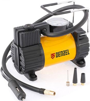 Автокомпрессор Denzel 58055 автомобильный AC-37 12 В 7 атм. 37 л/мин автомоб. предохранитель