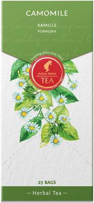 julius meinl семь морей чай улун листовой 50 г Чай травяной Julius Meinl премиум Ромашка 25 пак. 88596