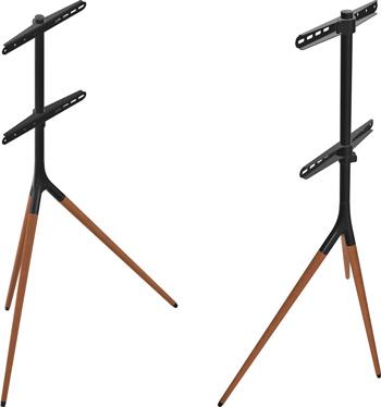 Фото - Мобильная стойка ONKRON для ТВ 32''-65'' чёрный TS1220 подставка для телевизора onkron ts1351 40 65 напольный мобильный