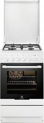 Комбинированная плита Electrolux EKK 951301 W плита electrolux ekk 961900x серый металлик