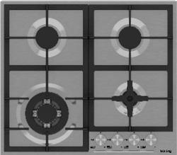 Встраиваемая газовая варочная панель Korting HG 665 CTX цена и фото