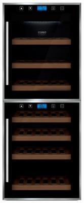 Винный шкаф CASO WineMaster Touch 38-2D цена в Москве и Питере