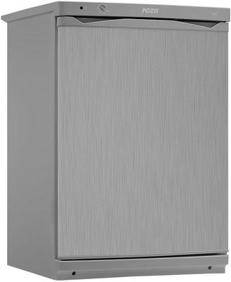 Однокамерный холодильник Позис СВИЯГА 410-1 серебристый металлопласт цена и фото