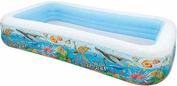 цены на Детский надувной бассейн Intex Тропический риф 58485  в интернет-магазинах