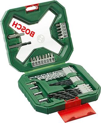 Набор бит и сверл Bosch X-Line 34 шт. 2607010608 цена 2017