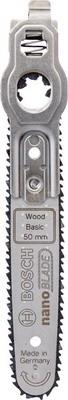 Пилка Bosch Nanoblade Wood Basic 50 2609256 D 83 фильтр bosch 2609256 f 35