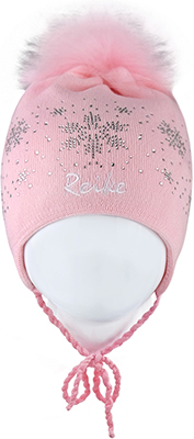 Шапочка Reike RKN 1718-1 WLC pink р.48 Розовый сандалии для девочки скороход цвет ярко розовый 16 282 1 размер 23