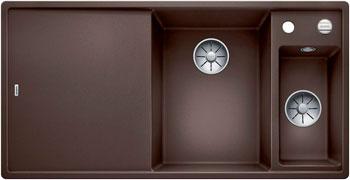 Кухонная мойка BLANCO AXIA III 6 S InFino Silgranit кофе 523471 часть ями yami 6 мока кофе фильтровальной бумаги 4 6 человек