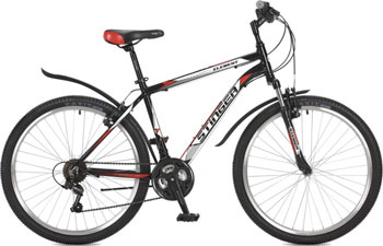 Велосипед Stinger 26'' Element 20'' черный 26 AHV.ELEM.20 BK7 цена