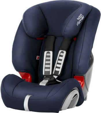 Автокресло Britax Roemer Evolva 123 Moonlight Blue Trendline 2000030287 автокресло britax romer evolva 1 2 3 plus cosmos black