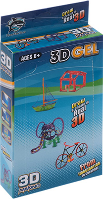 цена Набор картриджей 3D Making с жидким полимером (2 шт.) 1CSC 20003397 онлайн в 2017 году