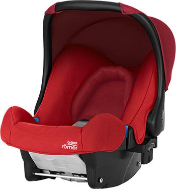 Автокресло Britax Roemer Baby-Safe Flame Red Trendline 2000026518 группа 0 0 от 0 до 13кг 0 6 мес britax roemer baby safe i size