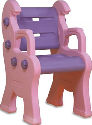 Стул King Kids ''Королевский'' розовый KK_LC 9040_P детский стул king kids детский пластиковый стул королевский красный