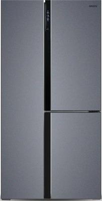 Холодильник Side by Side Ginzzu NFK-610 темно-серый