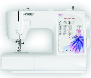 Швейная машина Leader NewArt 300 швейная машина leader vs 318 4640005570144
