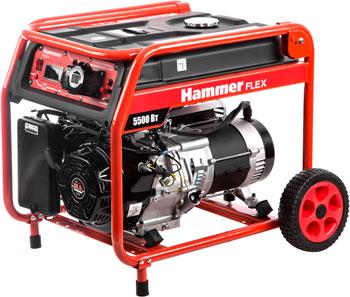 цена на Бензоэлектростанция Hammer Flex GN 6000 T