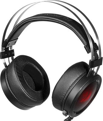 Фото - Игровая гарнитура Redragon Scylla черный красный 75064 проводной и dect телефон foreign products vtech ds6671 3
