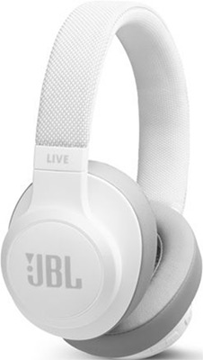 Накладные наушники JBL JBLLIVE 500 BTWHT белый фото