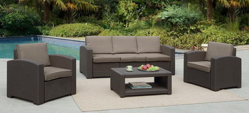 Комплект мебели Афина AFM-3017 B Dark Brown